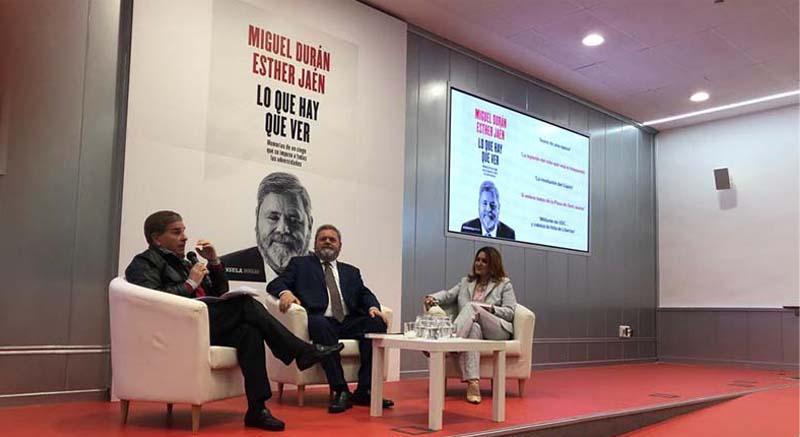 Presentacion libro Miguel Duran abogado once