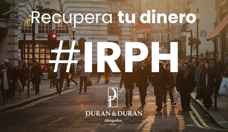 Sentencia de IRPH