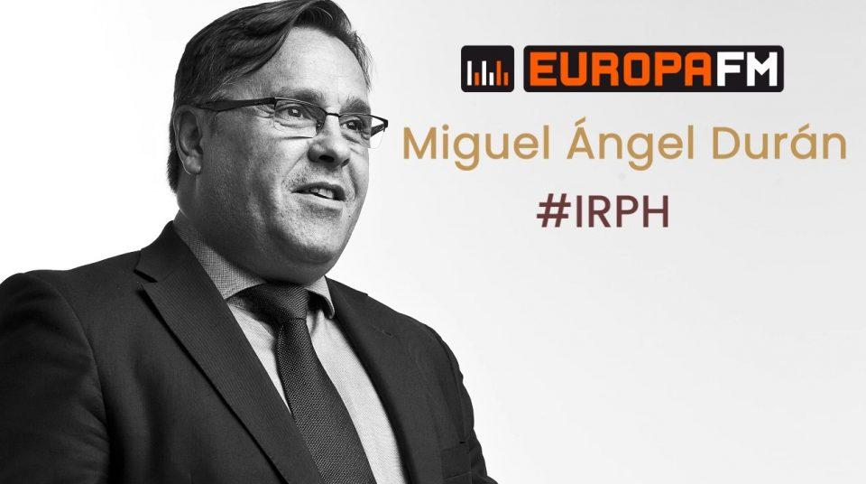 Miguel Ángel Durán IRPH