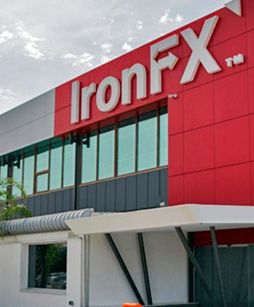 IronFX desmantelado